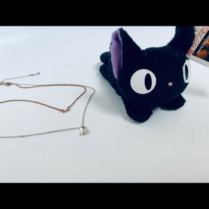 Studio Ghibli Jewelry - 🎀Kiki's Delivery service 2 Layer Necklace Set 🎀
